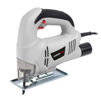 Powerplus 350w Electric Jigsaw Adjustable Base Cutting Saw Blade