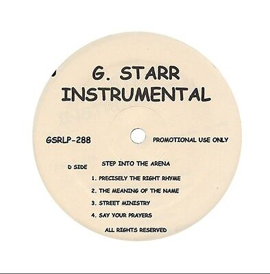 🌟gang Starr Step In The Arena Instrumentals Promo Only Vinyl Lp Rare! 🌟