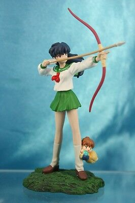 Furuta Inuyasha Fire on the Mystic Island Collection Figure Kagome Shippo