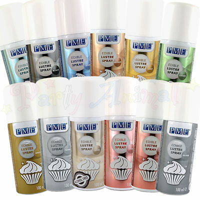 PME Lustre Spray - Edible food colour spray for cake decoration and baking