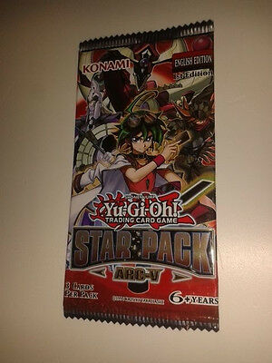 Yu-Gi-Oh Sticker Star Pack Arc-V X 10 * Bundle Bulk Set