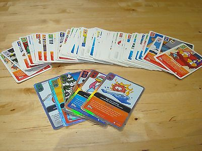 Collection Lot of 90 Disney Club Penguin Trading Cards