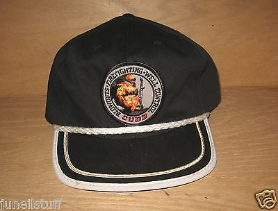 Vintage CUDD Oil Gas Blowouts Firefighting Well Control Baseball Cap