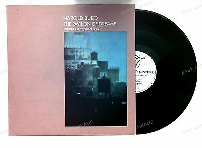 Harold Budd - The Pavilion Of Dreams UK LP 1981 Brian Eno Electronic Ambient //1
