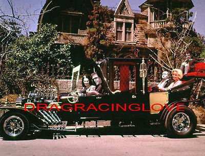 """Munsters Koach"" & Family 60s TV Show"" ""The Munsters"" ""1313"" PHOTO!"