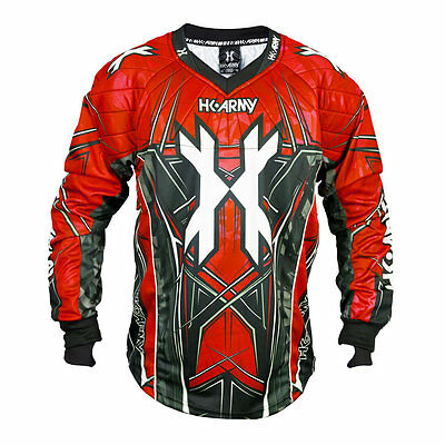 HK Army HSTL Line Jersey Red - Paintball
