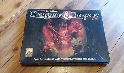 1991 Tsr Dungeons & Dragons The New Easy To Master Game Board Game