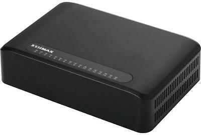 Edimax 16 Port Fast Ethernet Switch Complies with IEEE802.3/u standards