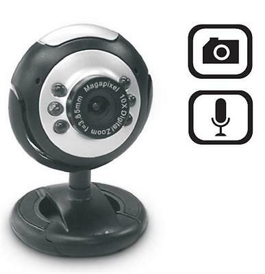 Dynamode Webcam 2MP with Mic USB Laptop PC Notebook Plug And Play M-1100M