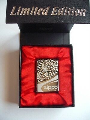 Zippo 80Th Anniversary Limited Edition Armor Lighter Numbered 18723/41932
