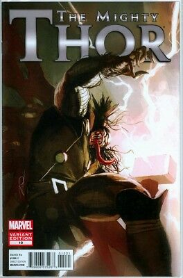 Mighty Thor #10 Parel Venom Retail Variant 1:50 9.4 Nm Rare Marvel Comics Movie