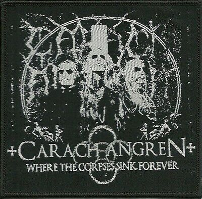 CARACH ANGREN - Where The Corpses Sink Forever - Woven Patch / Aufnäher