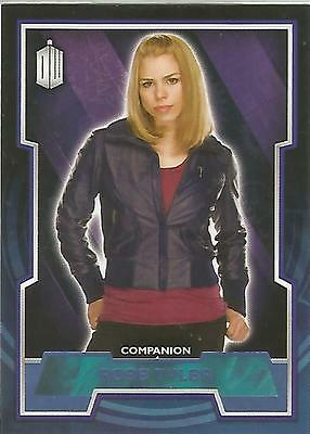 "Topps Doctor Who 2015 - No. 42 ""Rose Tyler"" Blue Parallel Card #070/199"