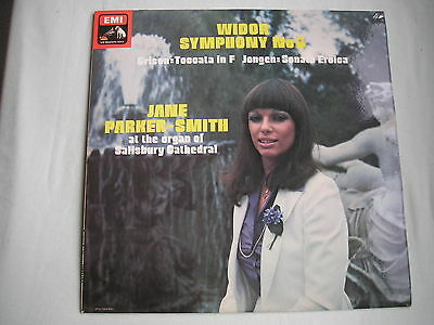 WIDOR Symphony No.5 UK LP Quad/stereo 1977 Jane Parker-Smith Grison/Jongen