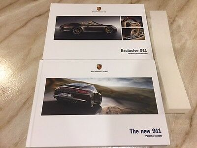 Porsche 911 991 Brochure 2012 Carrera S Coupe Cabriolet PDK & Exclusive Pack