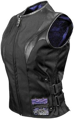 Speed And Strength Motorcycle Vest Women Extra Small XS