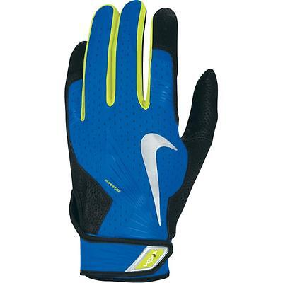 Nike Vapor Elite Pro Batting Gloves Gb0372 470 Photo Blue / Black Mens Medium