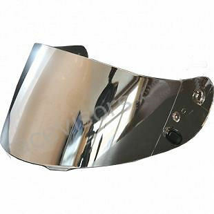 SILVER Helmet SHIELD Visor CL-15, CL-SP, CS-R1, CS-R2 FS-15 CL16 AC12 IS16 HJ09