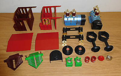 Lionel Large G Scale Toy Train Parts Lot Steam Engine Locomotive Smoke Stacks