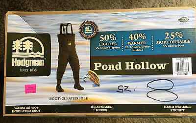 Hogman POND HOLLOW Chest Wader Insulated Breathable  8 MEN'S ,  SIZE 9 WOMEN'S