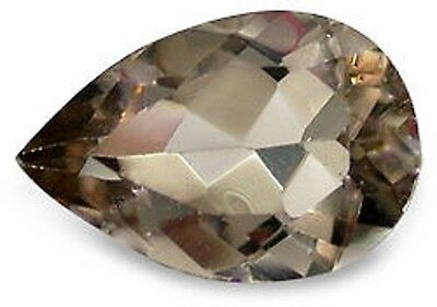 Best SMOKY QUARTZ Pear Shape Cut 16 x 12 mm
