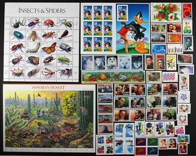 US 1999 Commemorative Year Set 98 stamps including Sheets Mint NH see scans