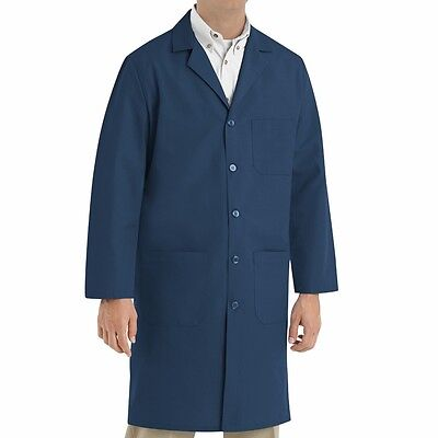 Lab Coats in Navy (Laboratory/Doctors/Foodstuff/Healthcare) Long Overall Coats