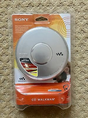 NEW Rare 1980's Sony CD Walkman Player D-EJ011 G Portection Mega Bass ~SEALED~
