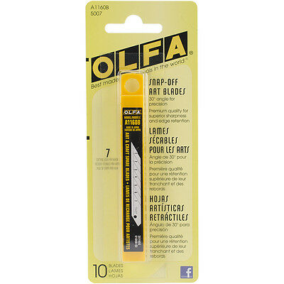 """""""Snap-Off Art Knife Replacement Blades 10/Pkg-For 9150, Set Of 2"""""""