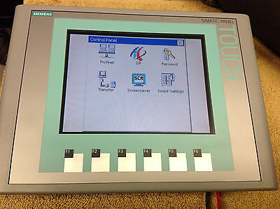 Siemens Simatic HMI Touch Panel KTP600 Color 6AV6-647-0AD11-3AX0  USED WORKING