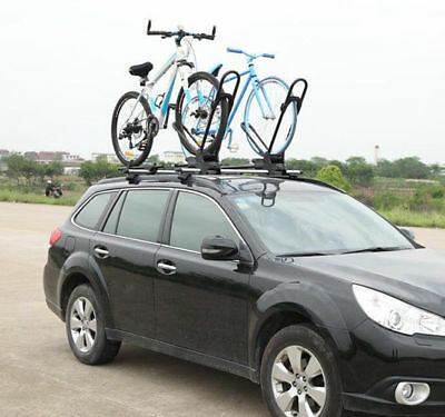 Outsunny Mounted 1-Bike Rooftop Rack Bike Rack Holder Mount Bicycle Carrier Roof