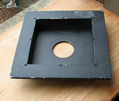 Sinar F & P fit recessed 24mm lens board panel with copal compur 0 hole