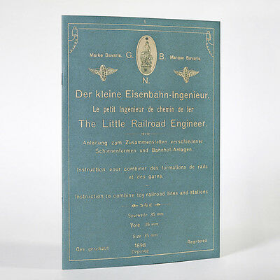 BING Katalog 1898 Rep., Der kleine Eisenbahn-Ingenieur, Little Railroad Engineer