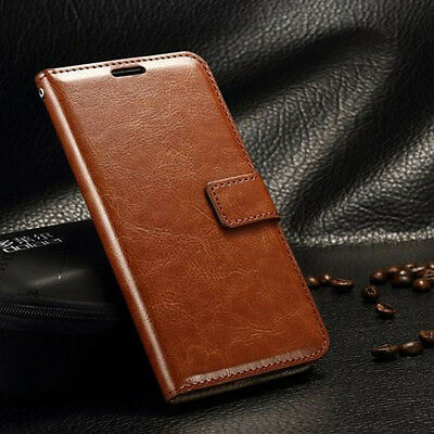 Retro Leather Case Flip Card Wallet Cover For Samsung Galaxy Grand Prime G530
