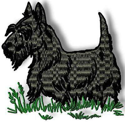 Realistic Scottish Terriers 10 Machine Embroidery Designs Cd 2 Sizes