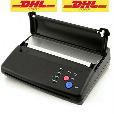 DE Stock Tattoo Stencil Transfer Flash Copier Thermal Hectograph Printer Machine