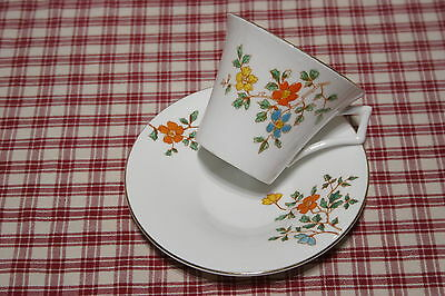 Colclough Royal  VALE Bone China Cup and Saucer 4044  EXC!