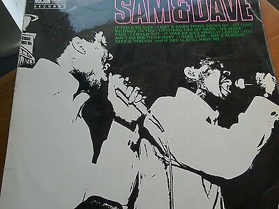 Sam and Dave UK LP Major Minor MCP5000 1968 Plays well