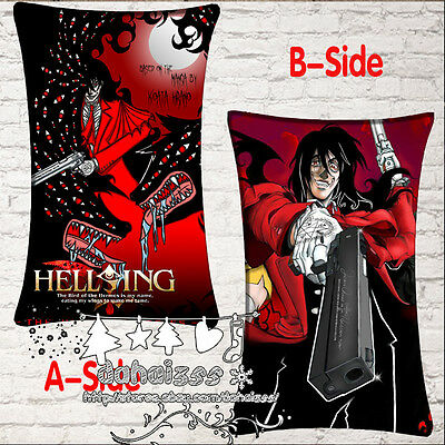 Anime Heavy Taste Terror Hellsing Dakimakura Pillow Cover Headrest Hugging #I1-4