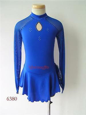 New custom ice Figure skating Competition dress 6380