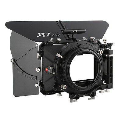 "JTZ DP30 Carbon Fiber 4x5.65"" Matte Box Swing Away 15mm/19mm for Sony ARRI CANON"