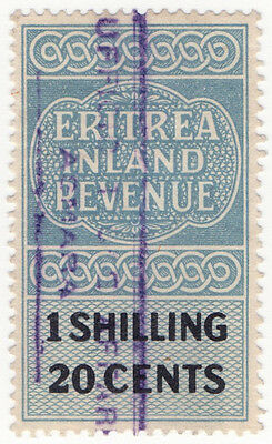 (I.B) BOIC (Eritrea) Revenue : Duty Stamp 1/20c