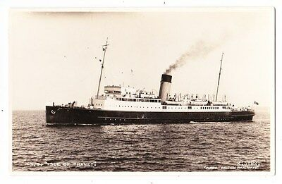 Early Post Card, Ships,  S S Isle Of Thanet, RP