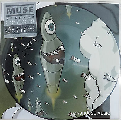 "MUSE 7"" Reapers / LIVE in Koln PICTURE DISC Record Store Day"