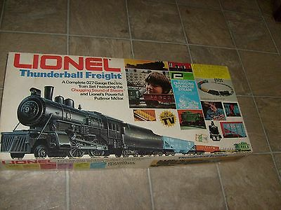Lionel Thunderball Freight Train Set 027 gauge Nice Vintag Boxed Example