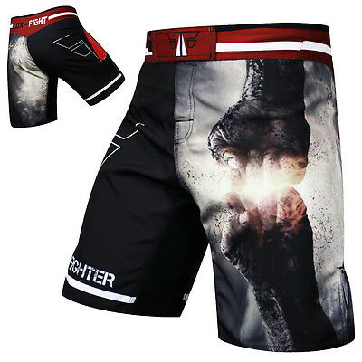 FOX-FIGHT PUNCH MMA Fight Hose Short Muay Thai Kickboxen UFC Kampfsport Hosen