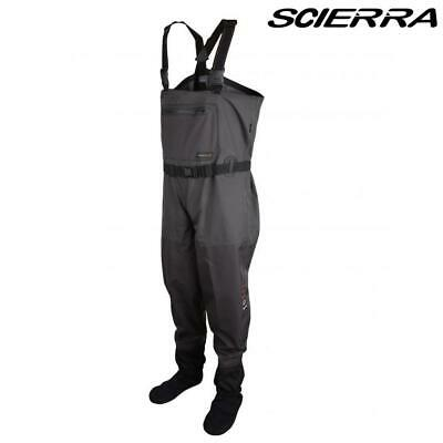 Scierra New X-16000 Stocking Foot Breathable Chest Waders Choose Size