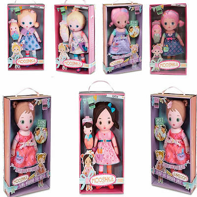 Mooshka Doll's Ring Around the Rosie & Finger Puppet Set's Choose from 6 Doll's