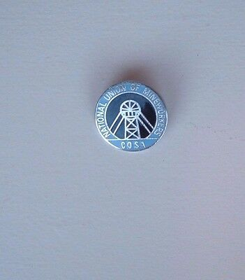Cosa  Colliery  Overmen  Shotfirers  Assosiation  Miners Trade Union Badge