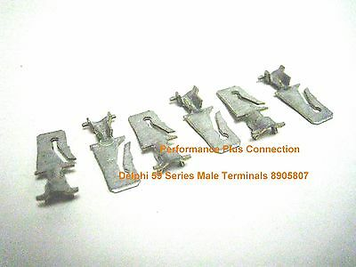 Delphi 8905807 Male Terminal 59 Series Unsealed 16-14 GA (6 Pack) Made In USA